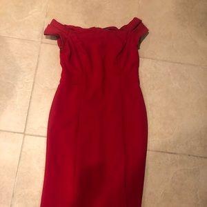Beautiful red Calvin Klein Dress